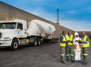 Protea mining chemicals [photo]